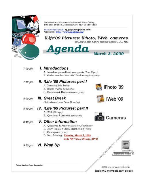 Pres Corner+Articles Mar'09