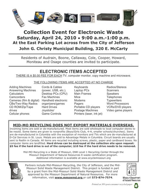 042410 EWaste Jeff City flyer