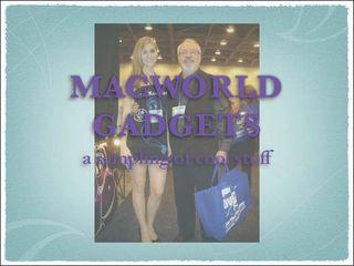 Macworld Gadgets cover