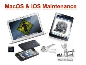 MacOS:iOS maint