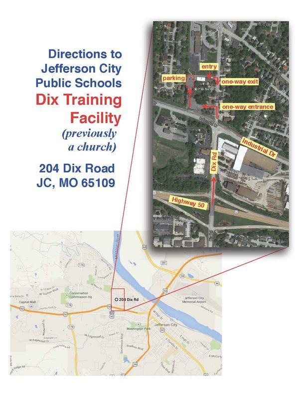 Dix Trng Fac map