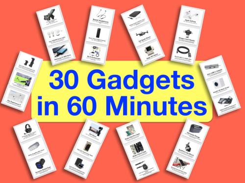 30 gadgets
